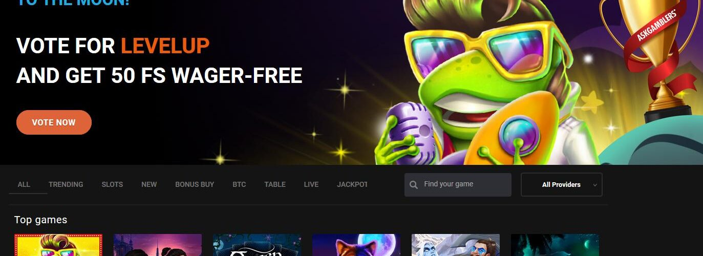 LevelUp Online Casino